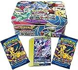 #10: Assemble New Original Sun& Moon Pokemon Go Fates Collide Metallic Box Card Pack (Multicolor)
