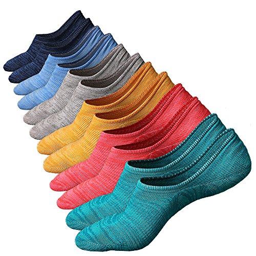 Anliceform Calzini Uomo in cotone Taglio Basso (Caviglia), alla moda, Calze casual, materiale cotone pettinato Premium alta qualità (6 Coppie)
