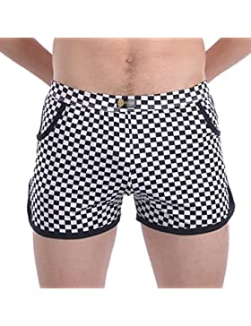 YZBear - Pantalón de Pijama - para Hombre