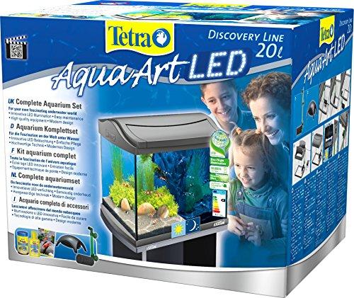 Tetra AquaArt LED Aquarium-Komplettset für Garnelen, 20 L - 2