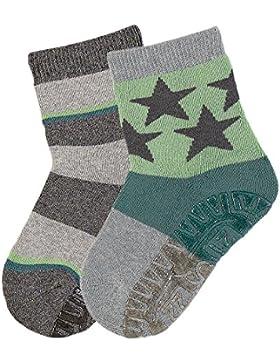 Sterntaler Baby-Jungen Socken Fli Soft Dp Ringel/Sterne