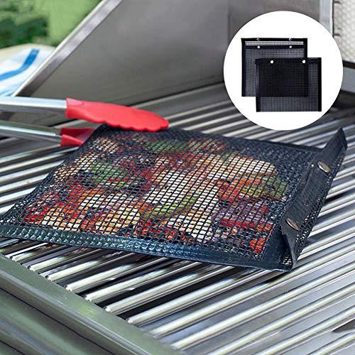 Küchenutensilien & Gadgets, antihaftbeschichtete Grill-Netztasche, hohe Temperaturbeständigkeit, Grillen Outdoor Picknick-Werkzeug 1# - Grill-gadgets