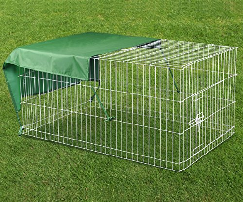 popamazing-poultry-rabbit-dog-chicken-pig-duck-pet-playpen-metal-enclosure-run-hutch-roof-animals-te