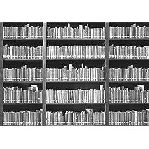 Bücherregal schwarz weiß  Suchergebnis auf Amazon.de für: fototapete bücherregal