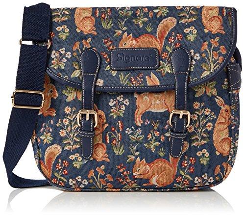 Signare sac de messager sac à main d'épaule tapisserie mode femme Vie à forêt