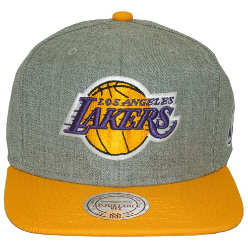 Mitchell & Ness - Casquette Snapback Homme NBA Team Pop - Los Angeles Lakers