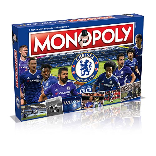 Winning Moves Chelsea FC 2016/17Fußball Monopoly Spiel