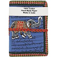 Urbankrafted Büttenpapier Pad Elefant gedruckt Abdeckung Journal Tagebuch Notizblock