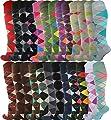 Mysocks® Unisex Knee High Long Socks Argyle Extra Fine Combed Cotton