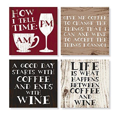 10,2cm Set Coffee & Wine