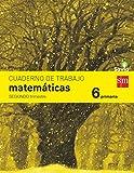 Cuaderno de matemáticas. 6 Primaria, 2 Trimestre. Savia - 9788467578584