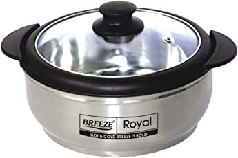 Casserole Royal Stainless Steel from Breeze (Black, 3000)