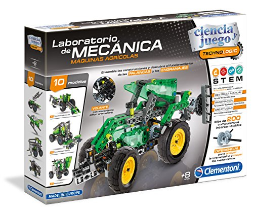 Clementoni - Laboratorio de mecánica, maquinas agrícolas (55162.0)