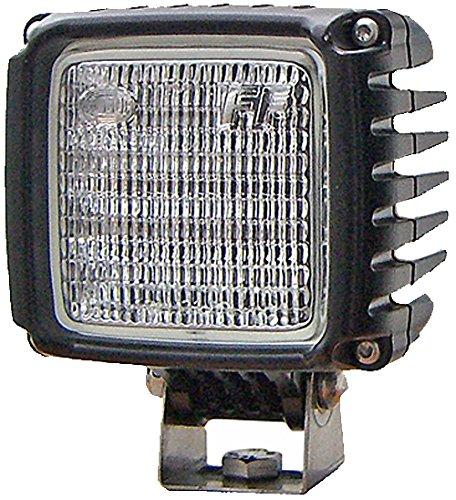 HELLA 1GA 996 192-061 Power Beam 3000, LED Arbeitsscheinwerfer, stehender Anbau, mattschwarz, 12V/24V