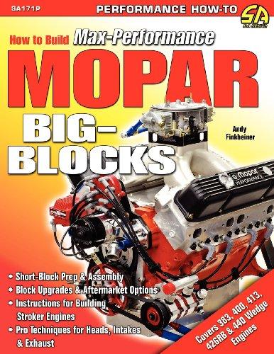 How to Build Max-Performance Mopar Big-Blocks (Flugzeug-blöcke)