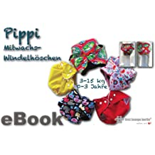 Pippi Nähanleitung mit Schnittmuster für Baby-Windelhöschen, Mitwachswindel [Download]