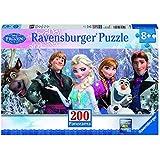 Ravensburger - A1504399 - Puzzle Enfant Classique  - La  Reine Des Neiges - Arondelle - 200 Pièces XXL Panorama