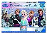 Frozen - Puzzles con diseño Panorama, 200 piezas, XXL (Ravensburger 12801)