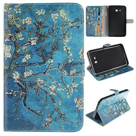 Skytar Galaxy Tab 3 7.0 Lite Schutzhülle,Case für Tablet Samsung SM-T113,Folio Case Cover mit Support-Funktion PU Leder Hülle für Samsung Galaxy Tab 3 7.0 Lite (SM-T110 / T111 / T113 / T116)
