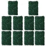 Sharplace 10er-Set Grasplatte Große 60 x 40cm Grasmatte Kunst-Gras Dekogras Blume Kunstrasen, DIY Haus Hochzeit Deko