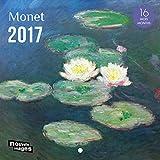 Nouvelles Images Calendrier 2017 Monet 16 mois 14,5 x 14,5 cm...
