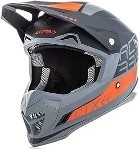 Acerbis Profile 4 Motocross Helm Schwarz Orange Xs 53 54 Auto
