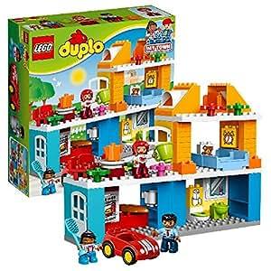 LEGO DUPLO 10835 – Familienhaus | Kleinkind Spielzeug ab 2 Jahren