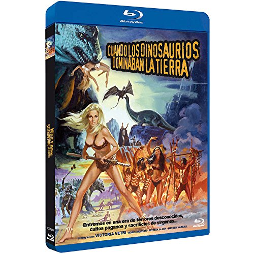 Cuando los Dinosaurios Dominaban la Tierra 1970 BD When Dinosaurs Ruled the Earth [Blu-ray]