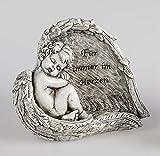 Formano 1 Engel in Flügel 16cm Trauer -für immer im Herzen-