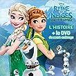 Reine des Neiges, Une F�te givr�e, LIVRE/DVD