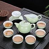 Kaige Tee-Geschirr Porzellan Teeservice Kung Fu Tee Tee Teekanne Keramik Seladon Tee Komplettsets