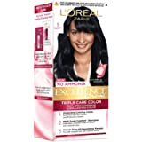 L'Oreal Paris Excellence Hair Color Small Pack No.1, Natural Black, 25ml+25g