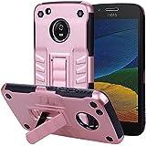 Motorola Moto G5 Plus Case, Premium Motorola Moto G5 Plus Cover, Danallc Premium Impact Resistant Durable Phone Case Compatible With Motorola Moto G5 Plus (Rose Gold)