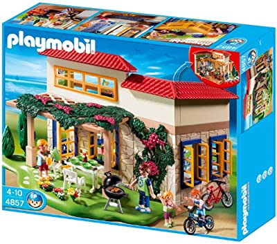 Playmobil 626126 - Vacaciones Casita Con Muebles de Playmobil