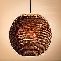 BBSLT Moderni ristoranti innovativi pupa ondulato carta kraft ombra naked pupa ristorante tè-Arte , pendente nessuna sorgente di luce