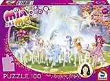 Schmidt Spiele 56033 – Mia and Me, Centopias Einhörner, Puzzle, 100 Teile
