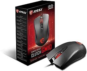 MSI Clutch S12-0401530-AP1 Gaming Optical Mouse (Black)