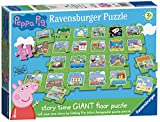Ravensburger Peppa Pig – Tell a Story Puzzle géant au Sol 24 pièces