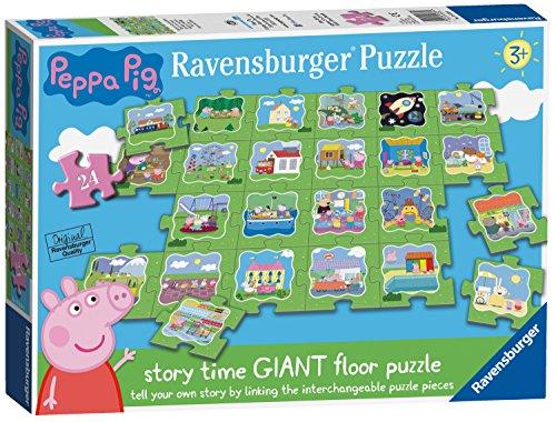 Ravensburger uk 5338peppa pig giant floor puzzle