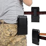 xhorizon FX Prämie Leder Beutel Tasche mit Rotierend Gürteltasche für iPhone 6 6s + Schlüsselanhänger Werkzeug(Passt mit Otterbox/ Lifeproof Schutzhülle/ Mophie Juice Pack Air)