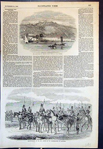 old-original-antique-victorian-print-sanitarium-smyrna-12th-lancers-eupatoria-reconnaissance-1855-14