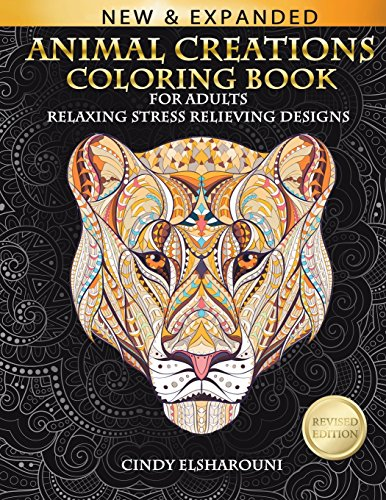 Animal Creations Coloring Book: Inspired By Nature