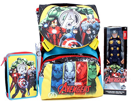 Zaino School Pack C/Thor Assemble Team Avenger Marvel