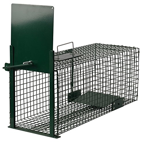 *Moorland Safe 5001 Lebend-Falle 60x23x23cm als Marder-Falle, Katzen-Falle, Fuchs-Falle, Ratten-Falle mit Falltür*
