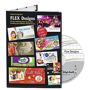 Abhikruti Flex Design Templates in PSD & CDR 1 PC (DVD)