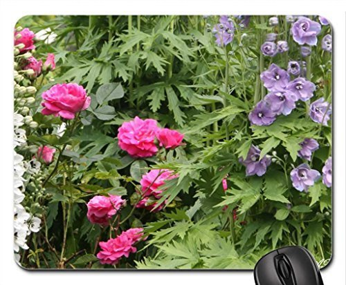 Victoria Garden BC Mouse Pad, Mousepad (Flowers Mouse Pad) (Victoria Garden)