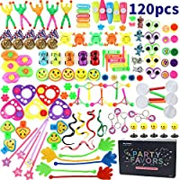 Amy&Benton 120 Juguetes de Fiesta a Granel - Ideal Rellenar Bolsas de Fiesta, Piñatas y Muchos Otros usos