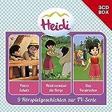 Heidi (CGI): Heidi-3-CD Hörspielbox Vol. 2 (Studio 100)