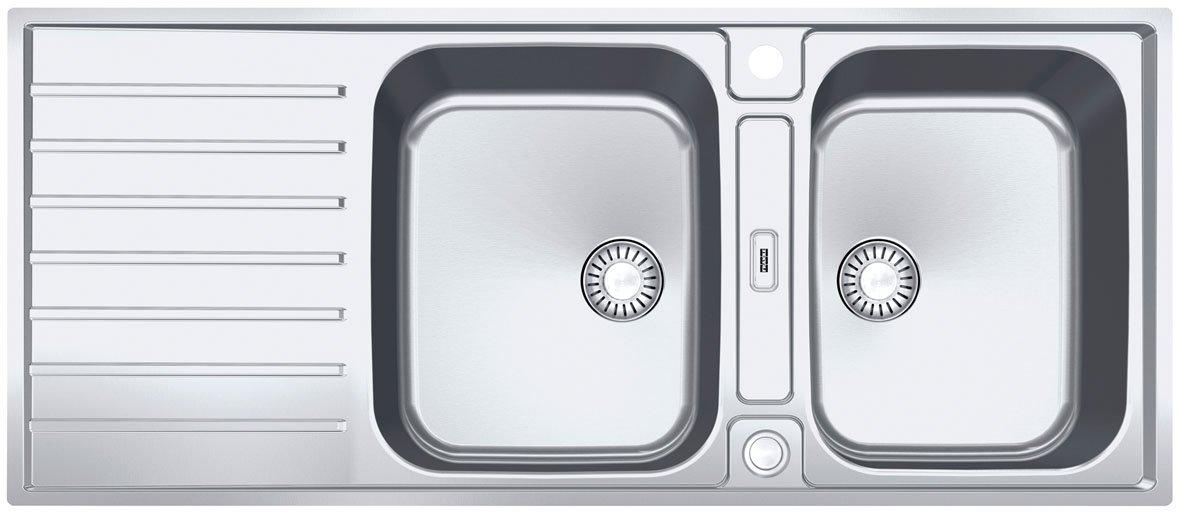 FRANKE AGX ARGOS G 624 G // pulsante l'incasso lavandino in acciaio inox
