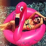 Beach Toy  - Bouée géante gonflable FLAMANT ROSE, livraison rapide, Best Seller